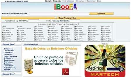 iBooF, todos los Boletines Oficiales al alcance de tu mano