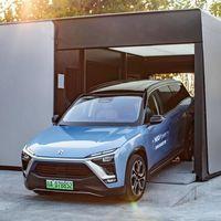 NIO recupera el intercambio de baterías para coches eléctricos en 3 minutos, y acumula ya medio millón de operaciones