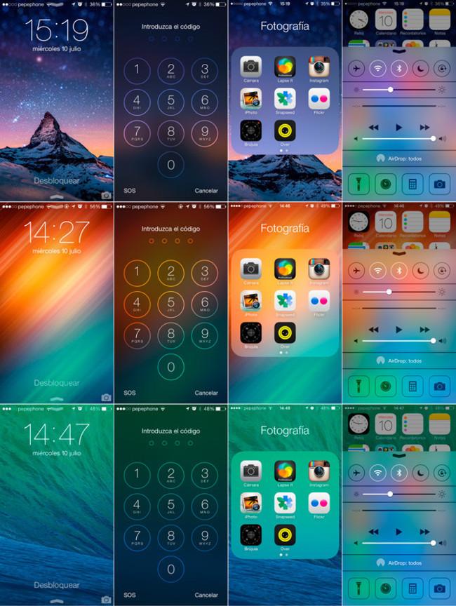 Personalización de iOS 7