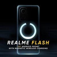 Realme avanza su primer móvil con carga a lo MagSafe del iPhone 12: el Realme Flash estrenará MagDart