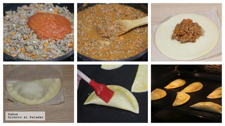 Empanadillas Carne Pasos Rehacer