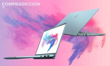 El portátil de trabajo que buscas puede ser este equilibrado gama media MSI Modern 14 B4MW-056XES que Amazon te deja por menos de 600 euros