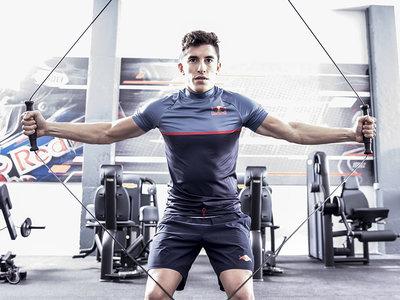 Así entrena Marc Márquez para dominar su MotoGP: Elasticidad, fuerza y reflejos