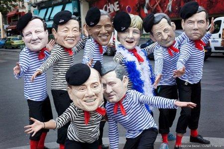 El compromiso del G8: por la libertad y la democracia