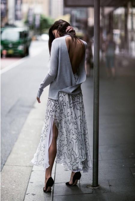 ropa para parecer más delgada