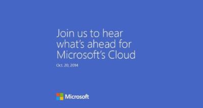 Microsoft anunciará novedades para la nube en un evento el 20 de octubre