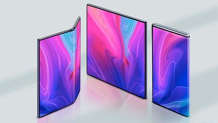 BOE fabrica una pantalla flexible capaz de doblarse en 360º
