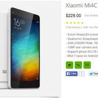 El Xiaomi Mi4C se deja ver en una tienda online antes de su presentación oficial
