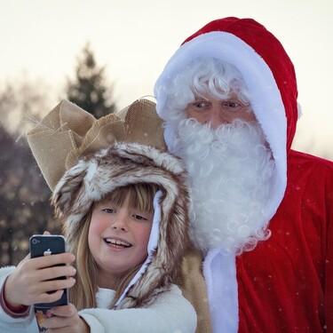 Las 15 mejores apps para ver y hablar con Papá Noel y los Reyes Magos y sorprender a los niños