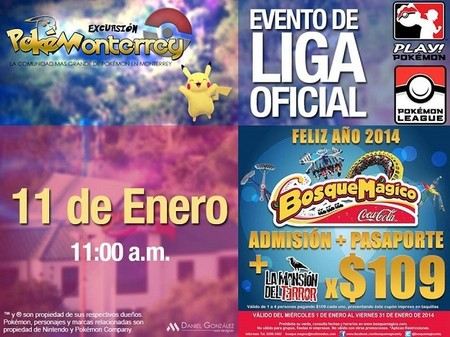 Excursión Pokémon a Bosque Mágico en Monterrey