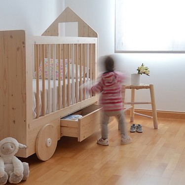 Cunas molonas para jugar con marionetas y que se reconvierten en camas
