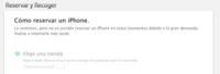 Apple estrena en España un sistema de reserva de iPhone en su página web