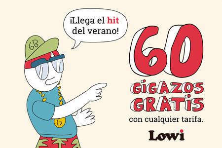 Lowi vuelve con su promoción veraniega: 60GB de datos gratis para todos sus clientes