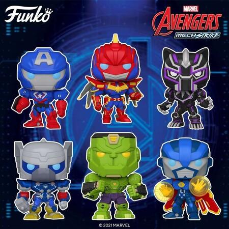 Preventa de figuras Funko POP de Avengers en Amazon México