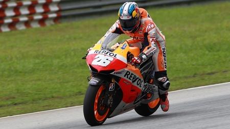 Dani Pedrosa retoma el liderato en el tercer día de test en Sepang