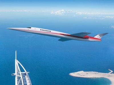 El primer jet supersónico privado del mundo apunta su llegada para el año 2023