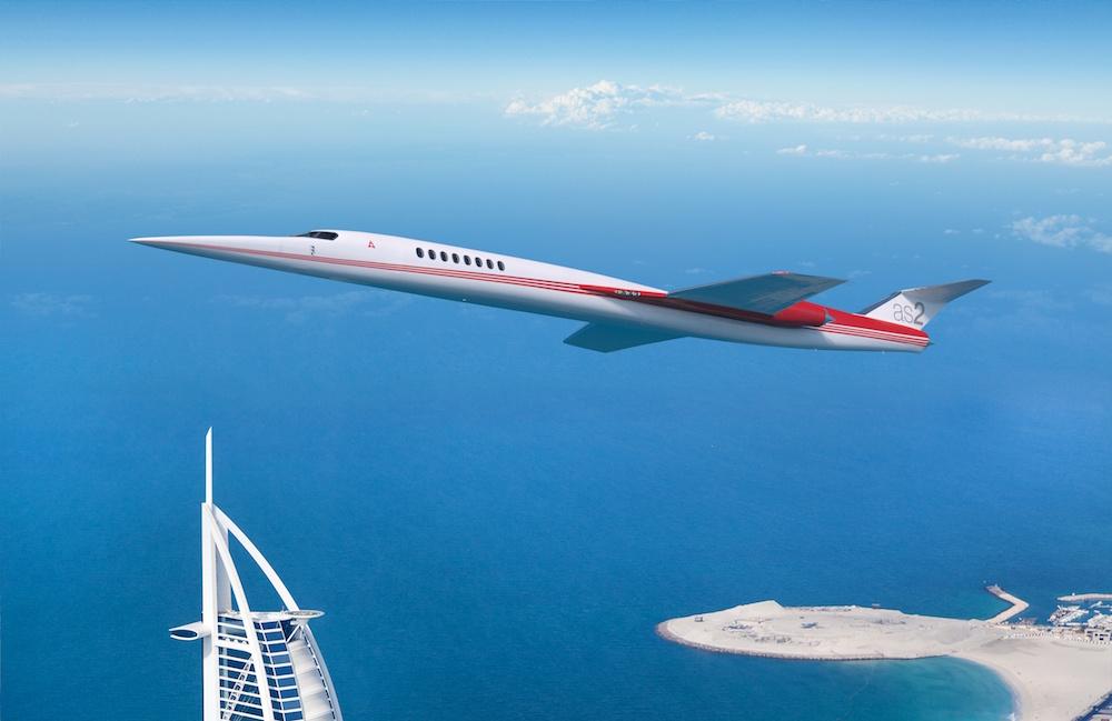 Jet Privato Supersonico : El primer jet supersónico privado del mundo apunta su