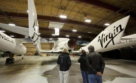 El SpaceShipTwo de Virgin Galactic: viajeros al vuelo suborbital en 2011
