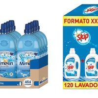 Hasta 25% de descuento en Skip Active Clean 120 lavados y Mimosin Azul Vital sólo hoy en Amazon