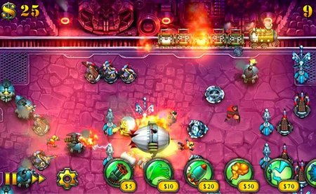 'Fieldrunners HD' disponible en Android