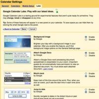 Google Calendar abre sus propios Labs