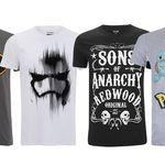Dos camisetas geek por 24 euros en Zavvi