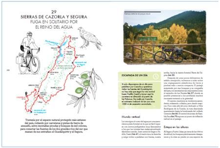 Libro rutas en bicicleta España