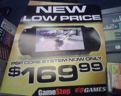 Sony PSP: ahora 170 dólares en EEUU