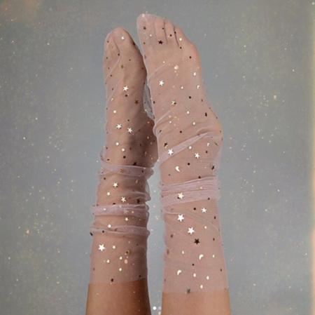 Ni cinturones, ni botas, ni bolsos... la clave de tu look pueden ser unos calcetines como estos