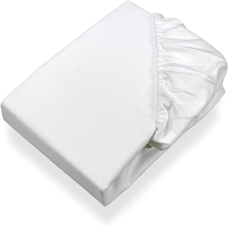 Sábana Protectora de colchón (con Cuatro Puntos de Ajuste, Aprox. 230 gr/m²)