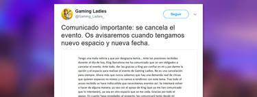 Gaming Ladies: el evento exclusivo para mujeres que terminó boicoteado por culpa de los hombres