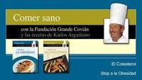 Stop a la obesidad y Reducir el colesterol, colección Comer Sano con Karlos Arguiñano