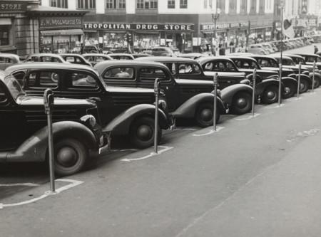 Parquímetros en Omaha (Nebraska) 1938