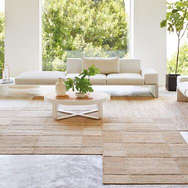 Inma Bermúdez diseña para Gan su colección de alfombras más naturales y artesanales