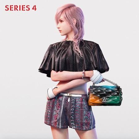Lightning, de Final Fantasy, ficha por Louis Vuitton y su nueva campaña Primavera-Verano 2016