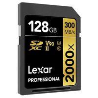 Para los más exigentes en vídeo y fotografía, en Amazon, la tarjeta SD Lexar Professional 2000X con 128GB, está rebajada a 161,75 euros