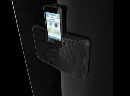 Lo último en accesorios para el iPod y el iPhone es... una nevera
