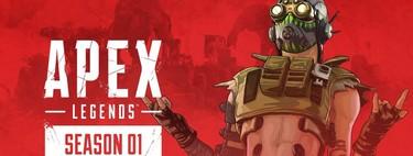 El Pase de Batalla y la Temporada 1 de Apex Legends llegan el 19 de marzo junto a Octane. Estos son sus contenidos