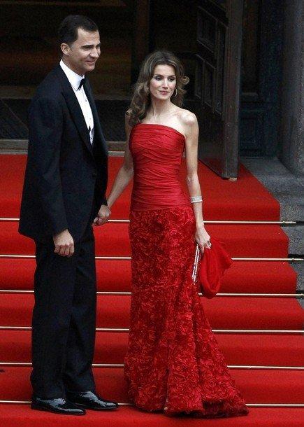 Boda de la Princesa Victoria de Suecia: Princesa Letizia I