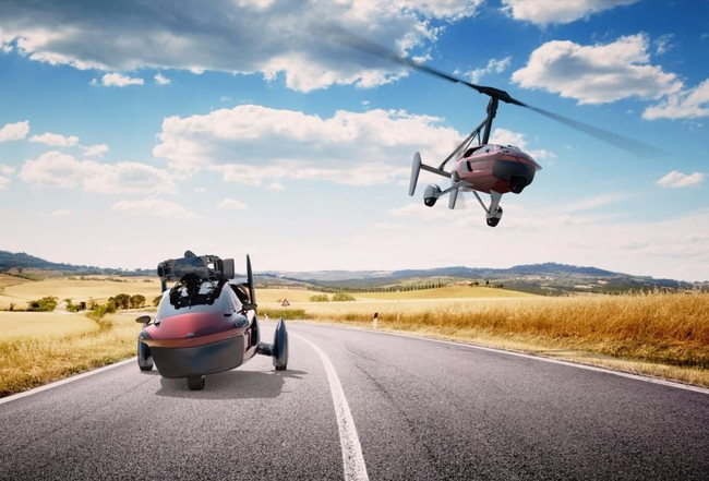 Pal V Liberty Three Wheel Flying Car Reservations 1
