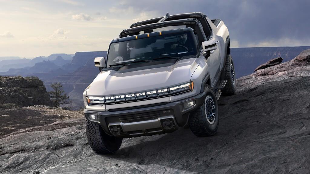 Hummer EV es la pickup eléctrica más espectacular de todas: 1.000 caballas, 560 km de autonomía y hasta