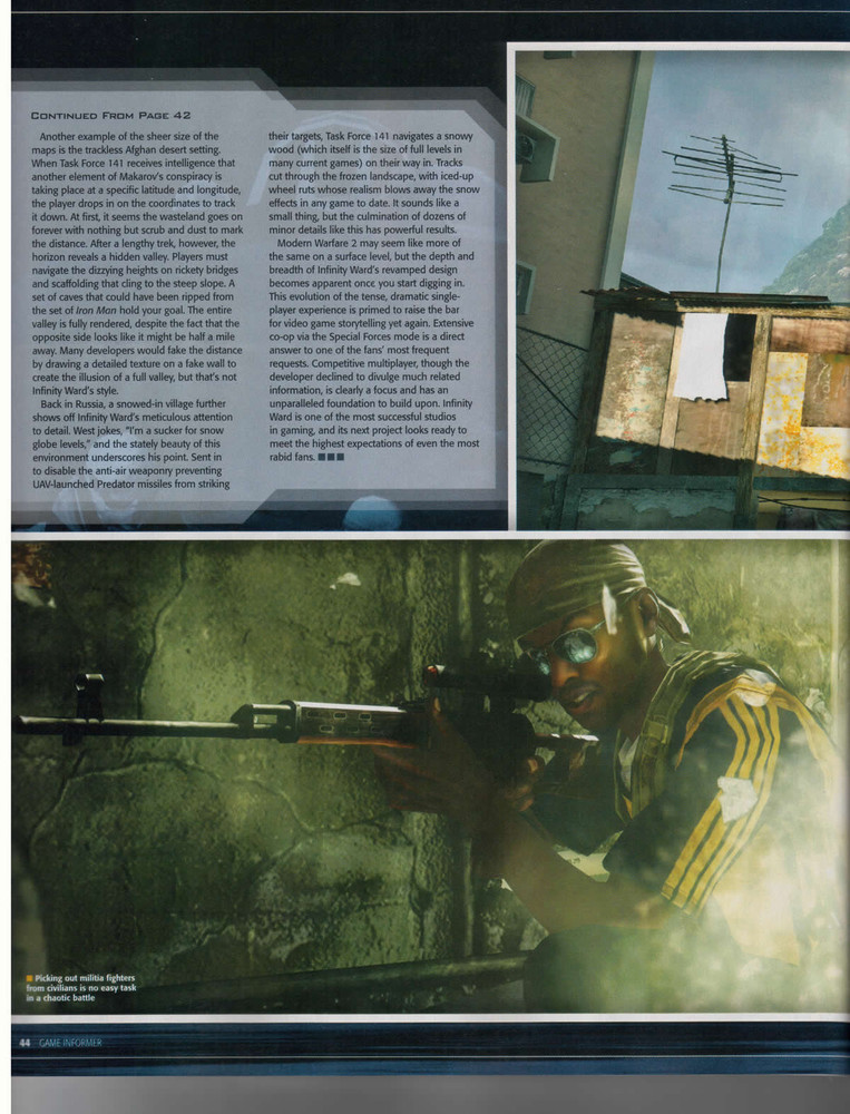 Foto de 'Modern Warfare 2' Scans Game Informer (9/10)