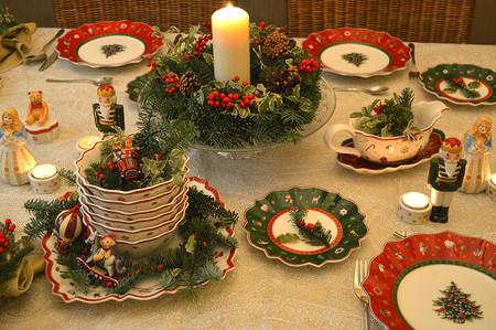 Tips para decorar una mesa de Navidad