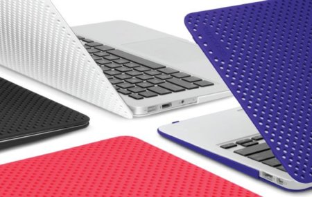 InCase Perforated Cases para MacBook Air y iPhone 4