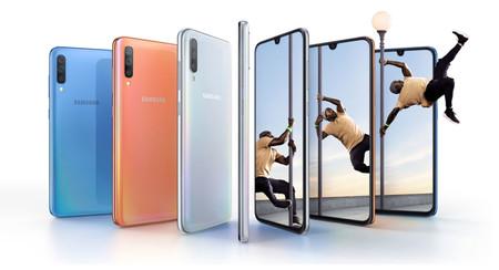 Samsung Galaxy A70: el gigante de la serie tiene una pantalla de 6,7 pulgadas y batería de 4.500 mAh