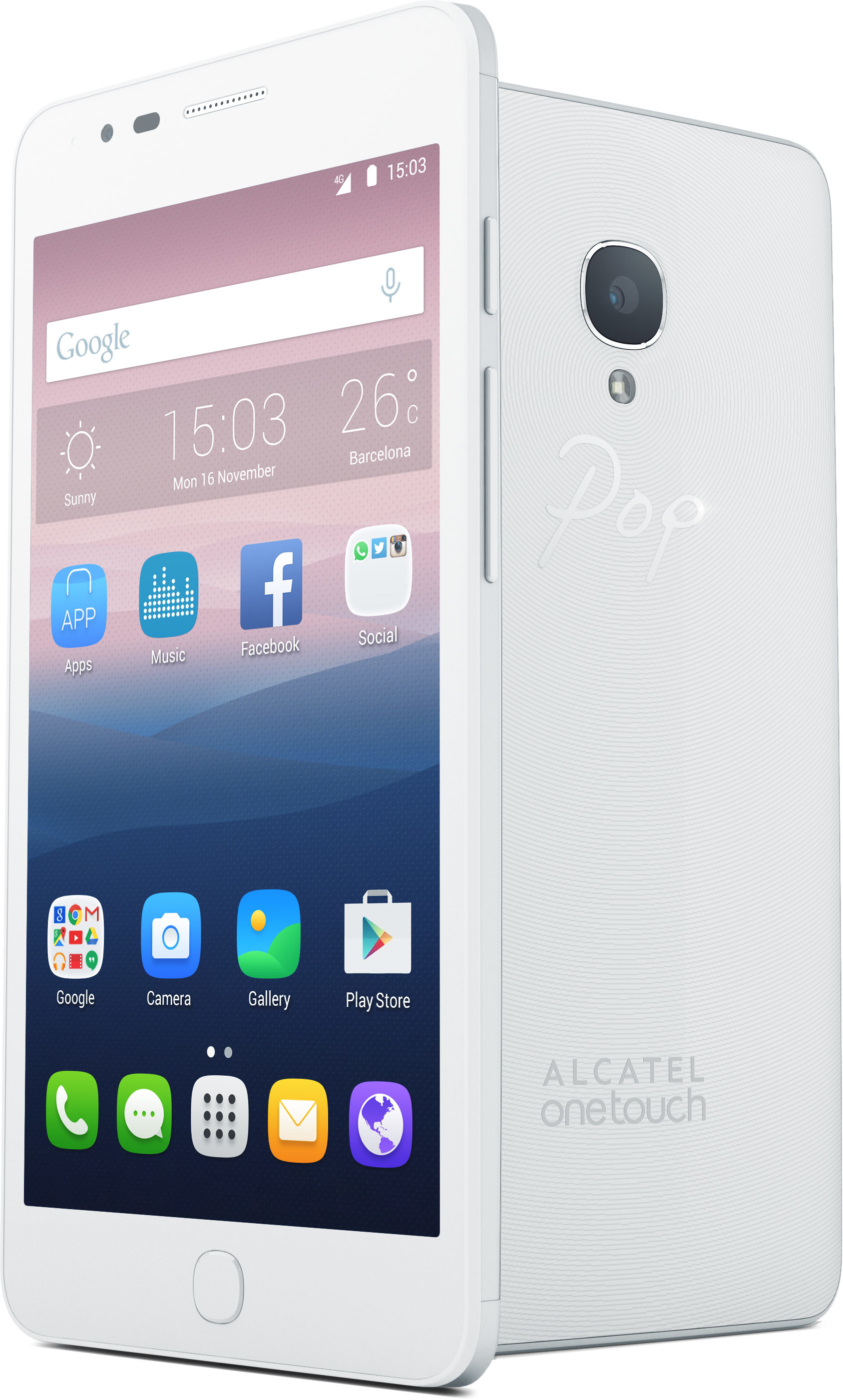 Foto de Alcatel OneTouch POP UP (2/3)