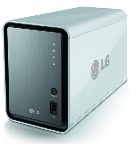 LG N2A2, un NAS que también nos vigila la casa