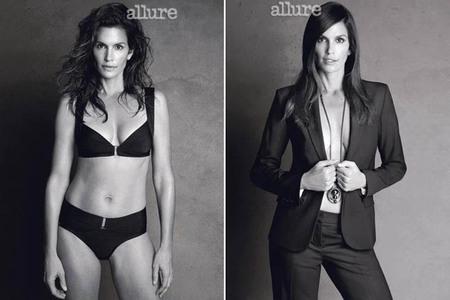 Editorial de Allure: las edades de una modelo