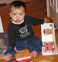 Cómo elegir los primeros libros del bebé