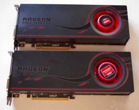 AMD 6970 and AMD 6950 GPU